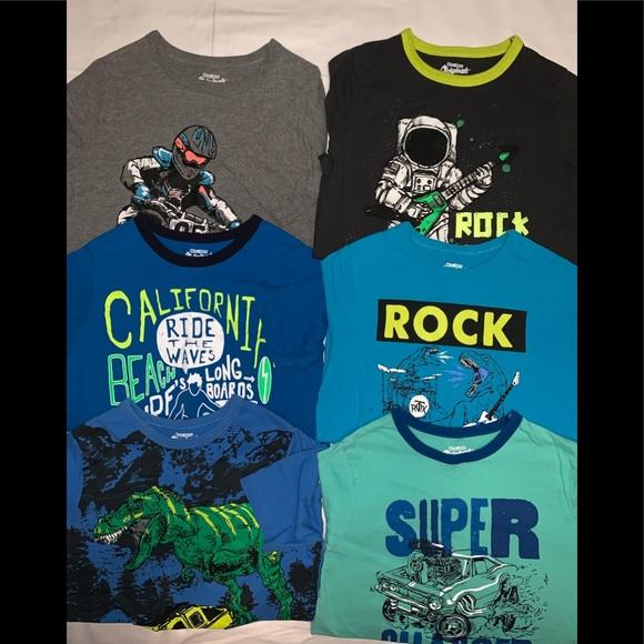 0ff444d3 OshKosh B'gosh Shirts & Tops | Boys Osh Kosh Tees Bundle Of 8 | Poshmark